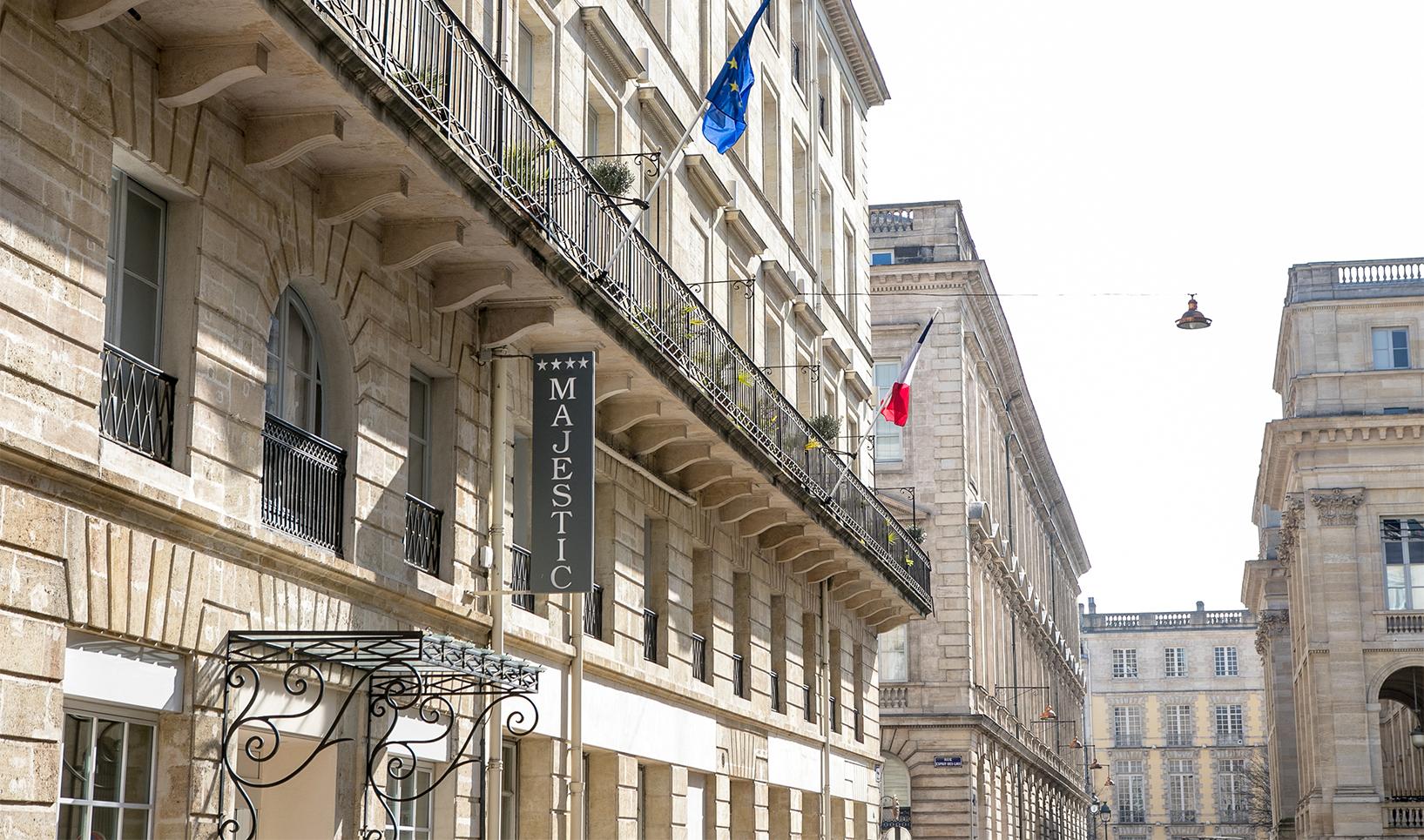 H tel majestic 4 toiles bordeaux centre ville for Bordeaux hotel de charme
